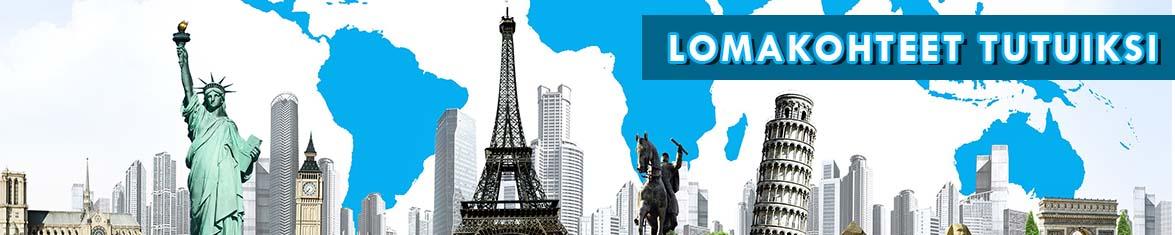 Lomakohteet: new york, pariisi, pisa, lontoo, australia